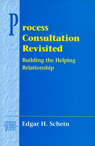 Process Consultation Revisited Building the Helping Relationship  1999 edition cover