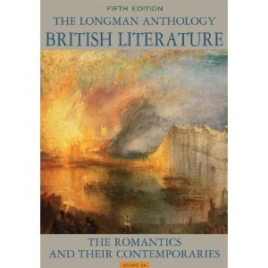 Longman Anthology of British Literature The Romantics and Their Contemporaries 5th 2012 (Revised) edition cover