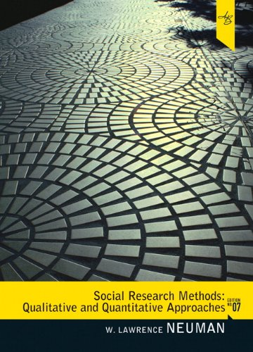 Social Research Methods Qualitative and Quantitative Approaches 7th 2011 edition cover