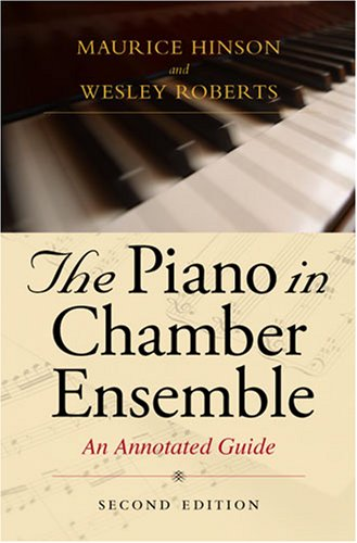 Piano in Chamber Ensemble  2nd 2005 edition cover