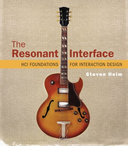 Resonant Interface HCI Foundations for Interaction Design  2008 edition cover
