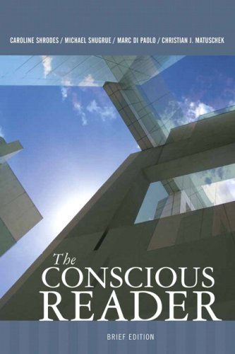 Conscious Reader   2008 (Brief Edition) edition cover