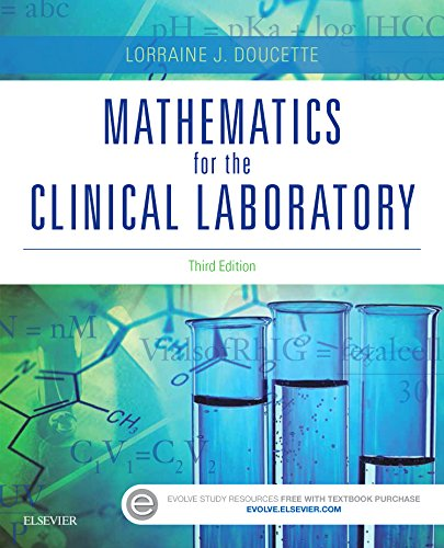 Mathematics for the Clinical Laboratory:   2015 edition cover