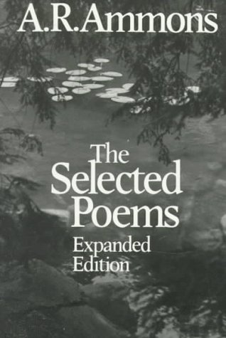 Selected Poems of A. R. Ammons   1986 (Revised) edition cover