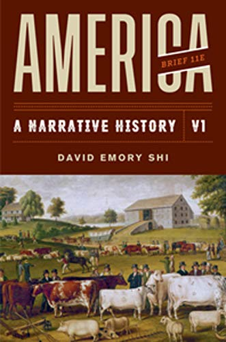 America: A Narrative History  2019 9780393668964 Front Cover