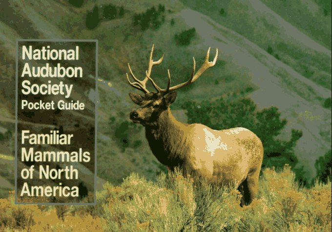 National Audubon Society Pocket Guide to Familiar Mammals  N/A edition cover