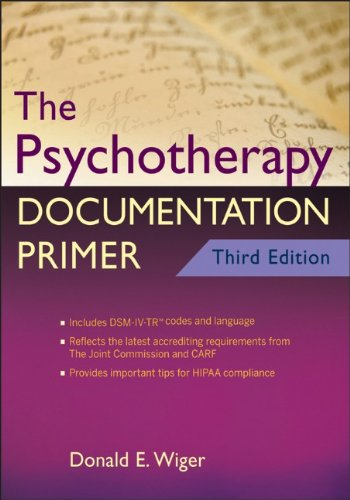 Psychotherapy Documentation Primer  3rd 2012 9780470903964 Front Cover