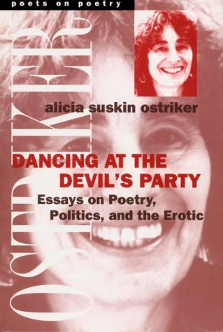 Dancing at the Devil's Party Essays on Poetry, Politics, and the Erotic  2000 edition cover