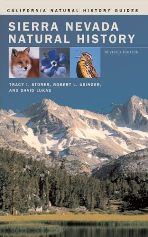 Sierra Nevada Natural History  2nd 2004 (Revised) edition cover