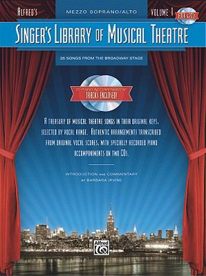 Singer's Library of Musical Theatre   2009 edition cover