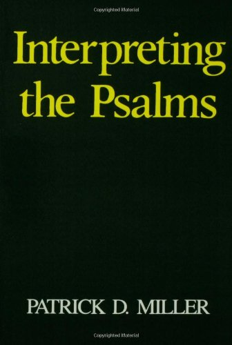Interpreting the Psalms  N/A edition cover