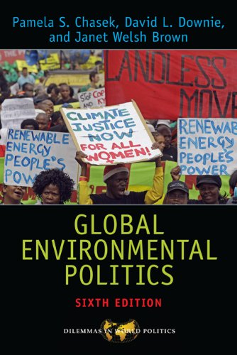 Global Environmental Politics  6th 2014 edition cover