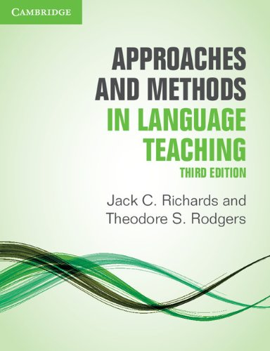 Approaches and Methods in Language Teaching  3rd 2014 (Revised) edition cover