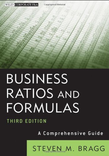 Business Ratios and Formulas A Comprehensive Guide 3rd 2012 edition cover