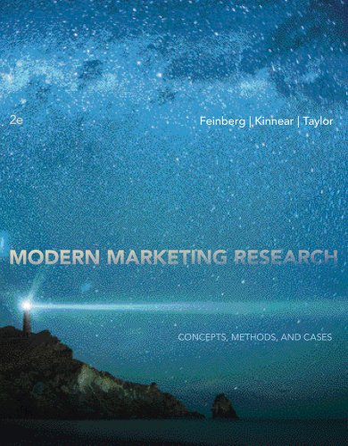 Modern Marketing Research Concepts, Methods, and Cases (with Qualtrics Printed Access Card) 2nd 2013 edition cover
