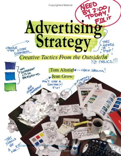 Advertising Strategy Creative Tactics from the Outside/in  2006 edition cover