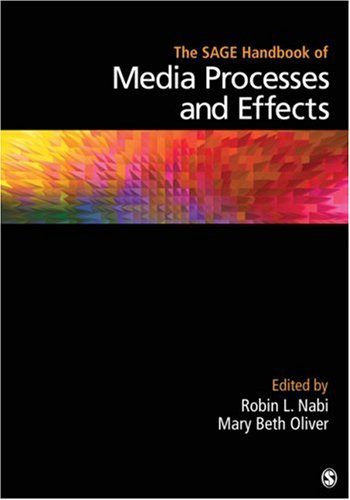SAGE Handbook of Media Processes and Effects   2009 edition cover