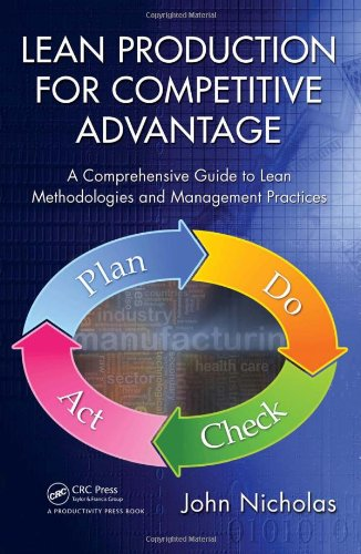 Lean Production Competitive Advantage   2010 edition cover
