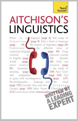 Aitchison's Linguistics   2010 edition cover