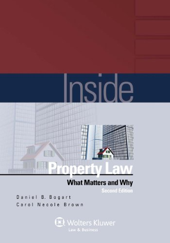 Inside Property Law What Matters and Why 2nd 2011 (Student Manual, Study Guide, etc.) edition cover