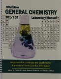 General Chemistry Chemistry 101/102 Laboratory Manual 5th (Revised) edition cover