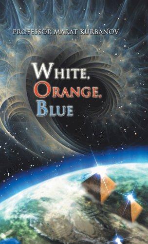 White, Orange, Blue   2013 9781490715964 Front Cover