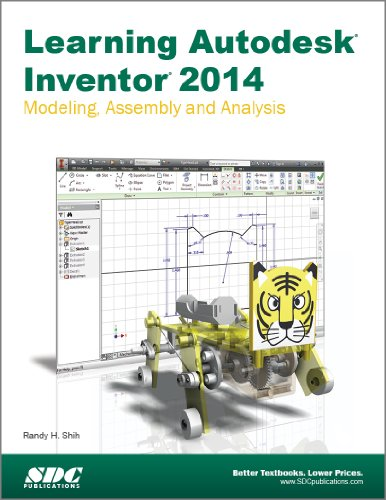 Learning Autodesk Inventor 2014:   2013 edition cover