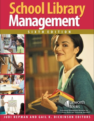 School Library Management  6th 2007 edition cover