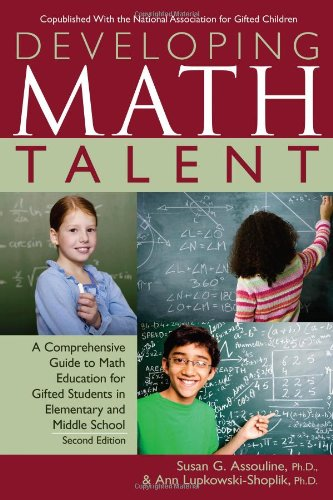 Developing Math Talent  2nd 2011 (Revised) 9781593634964 Front Cover