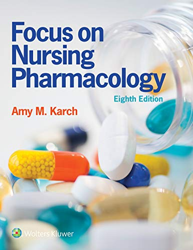 Cover art for Focus on Nursing Pharmacology, 8th Edition