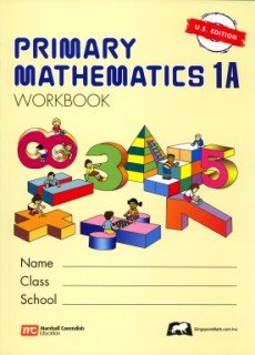 PRIMARY MATHEMATICS 1A-WORKBOO N/A 9789810184964 Front Cover