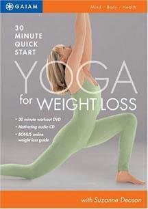 Quick Start Yoga For Weight Loss [dvd] System.Collections.Generic.List`1[System.String] artwork