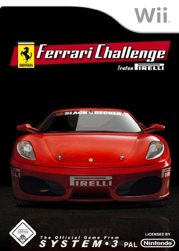 Ferrari Challenge - Trofeo Pirelli Nintendo Wii artwork