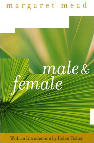 Male and Female The Classic Study of the Sexes  2001 edition cover