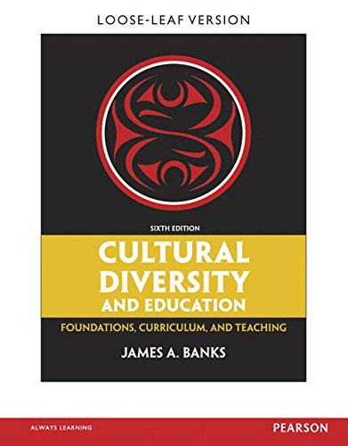 Cultural Diversity and Education Foundations, Curriculum, and Teaching 6th 2015 edition cover