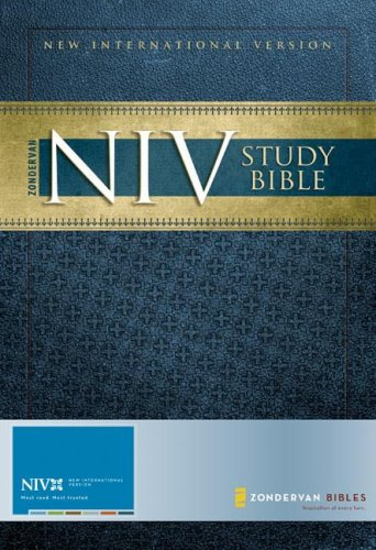 NIV Study Bible   2008 (Revised) edition cover