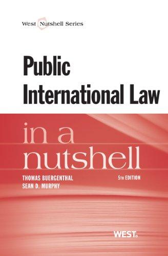 Public International Law in a Nutshell:   2013 edition cover