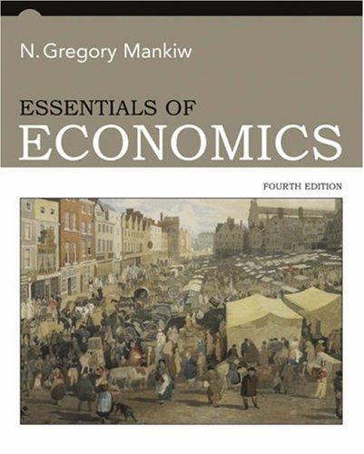 Essentials of Economics  4th 2007 edition cover