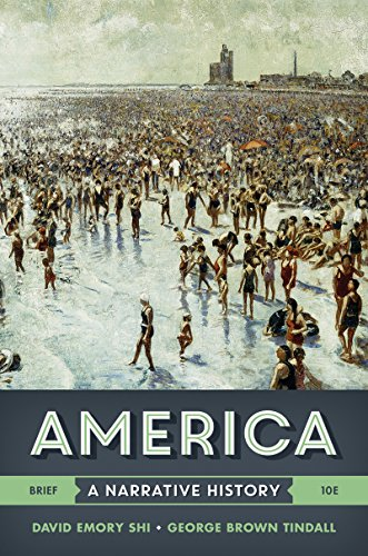 America: A Narrative History 10th 2016 9780393265965 Front Cover