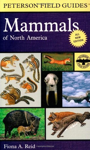 Peterson Field Guide to Mammals of North America Fourth Edition 4th 2006 9780395935965 Front Cover