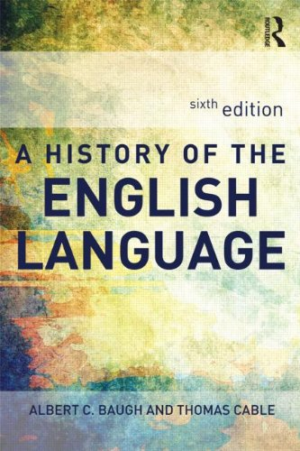 History of the English Language  6th 2013 (Revised) edition cover
