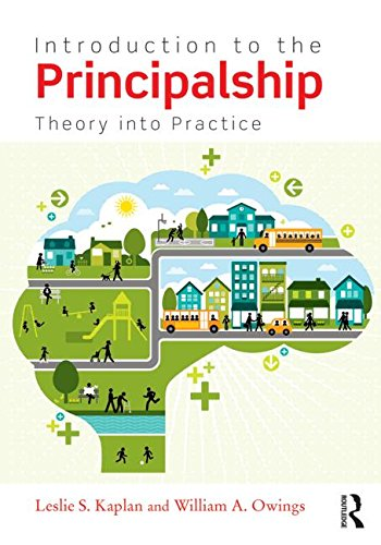 Introduction to the Principalship Theory to Practice  2015 9780415741965 Front Cover