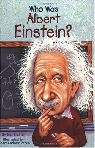 Who Was Albert Einstein?   2002 9780448424965 Front Cover
