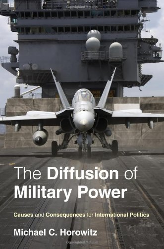 Diffusion of Military Power Causes and Consequences for International Politics  2010 9780691143965 Front Cover
