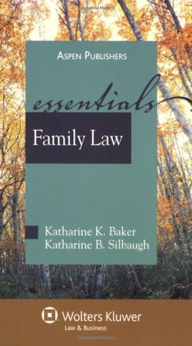 Family Law  2nd 2009 (Student Manual, Study Guide, etc.) edition cover