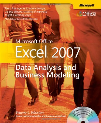 Microsoft� Office Excel� 2007 Data Analysis and Business Modeling 2nd 2007 (Revised) edition cover