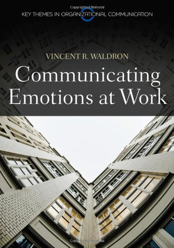 Communicating Emotion at Work   2011 edition cover