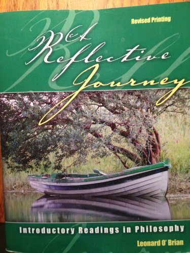 Reflective Journey Introductory Readings in Philosophy Revised edition cover