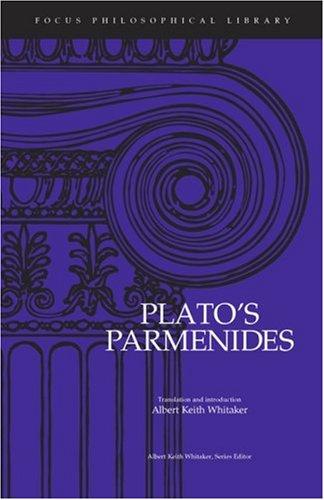 Parmenides   1997 edition cover