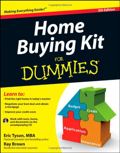 Home Buying Kit for Dummies  5th 2012 9781118117965 Front Cover